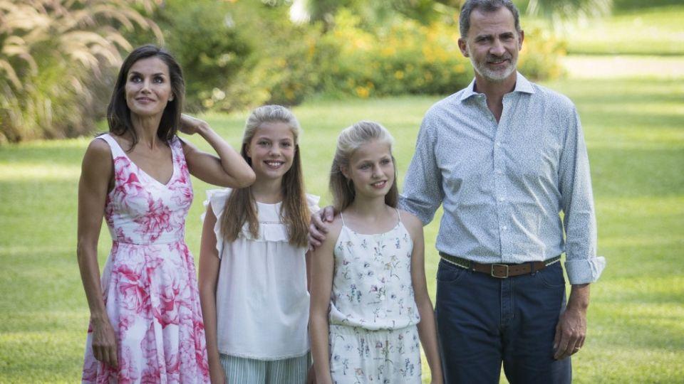 Los Reyes de España, en Mallorca: la perfecta fotografía familiar que dio vuelta el mundo