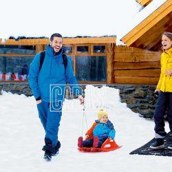 Las divertidas vacaciones de Nicolás Magaldi junto a su esposa y su hijo