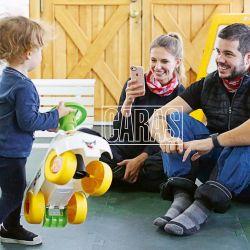 Las divertidas vacaciones de Nicolas Magaldi junto a su esposa y su hijo