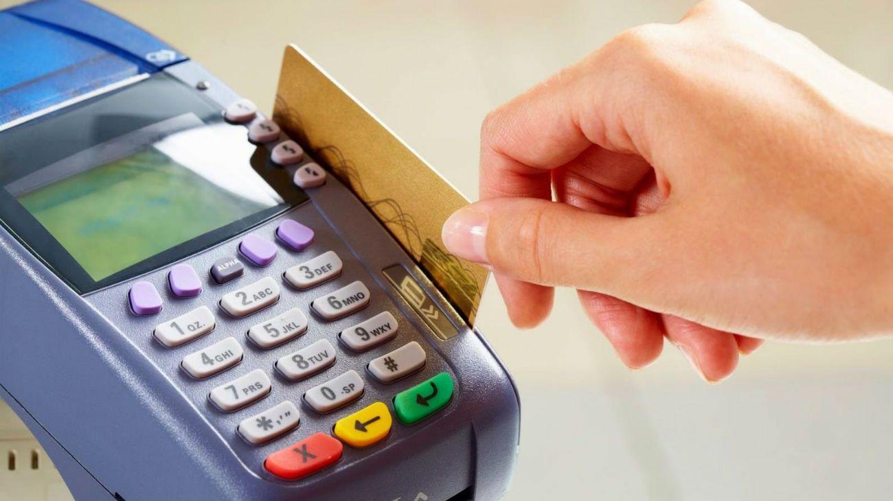 Pagos con tarjeta de crédito.