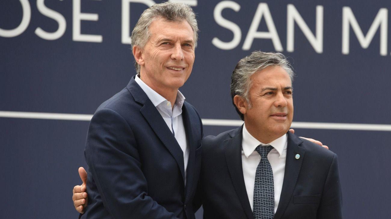 """Cornejo llamó a votar por Macri porque """"el modelo de Cristina es Venezuela"""""""