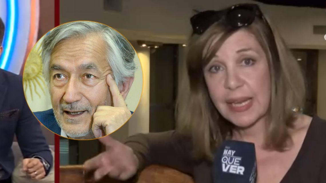 Acusaron a Anabela Ascar de salir con Alberto Rodríguez Saá y estalló de furia