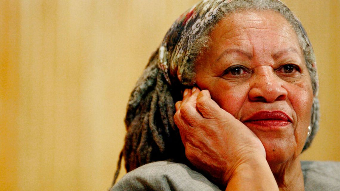 US writer Toni Morrison at a conference about Argentine writer Julio Cortázar in Mexico in 2005.