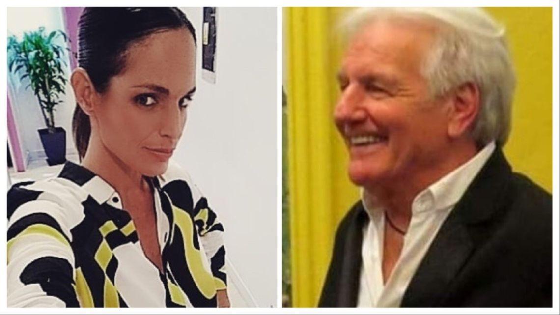 Verónica Monti pudo ver a Sergio Denis, internado en el ALCLA