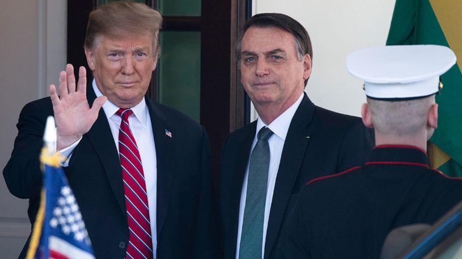 donald trump jair bolsonaro g_20190806