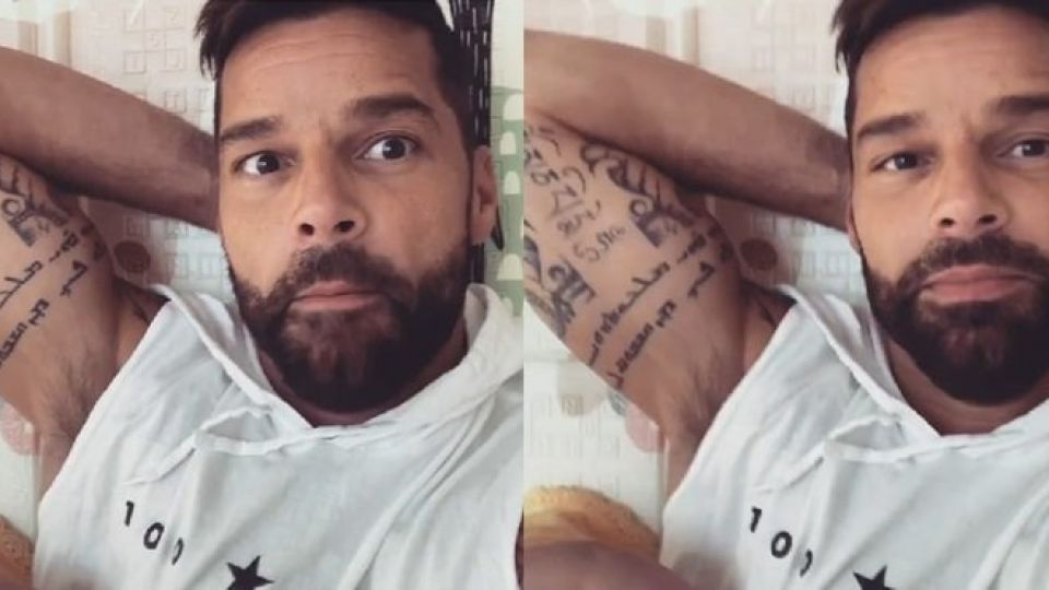 Ricky Martín enterneció las redes con un video en donde le canta a su hija Lucía