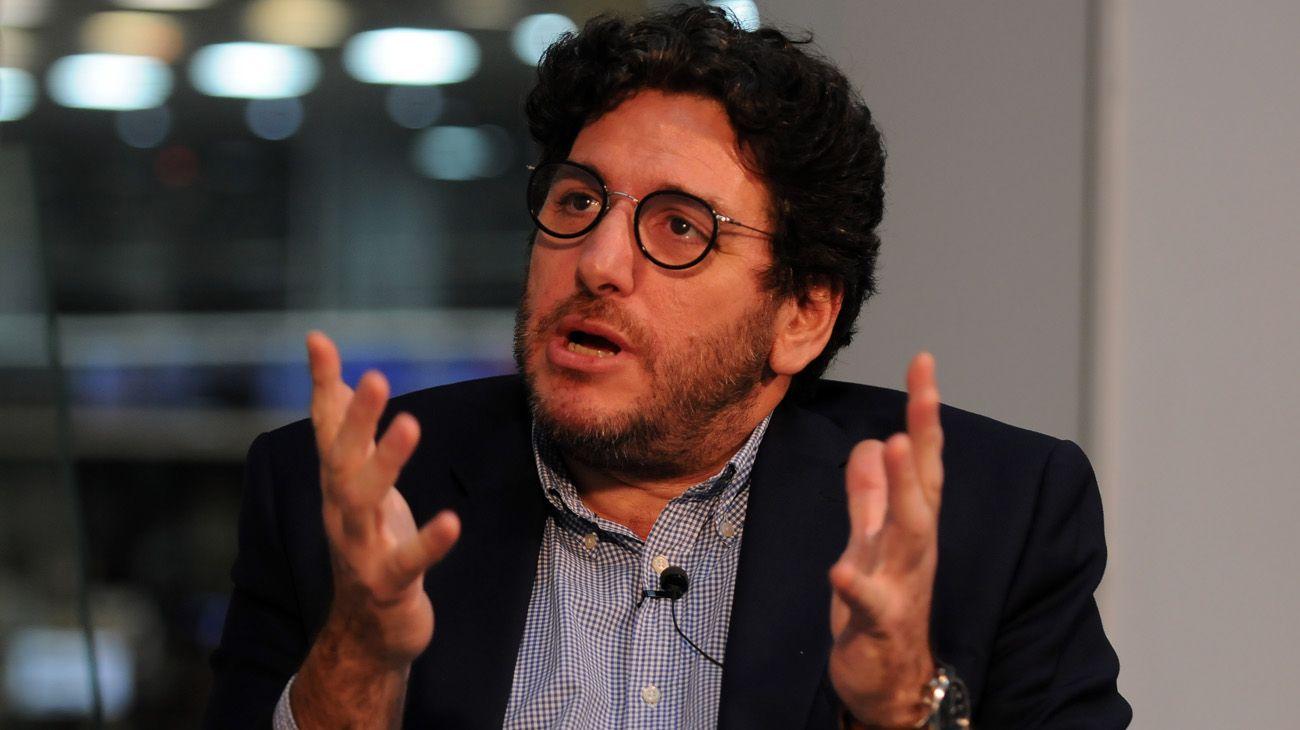 El exministro de Cultura Pablo Avelluto en Editorial Perfil
