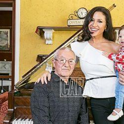 Gracias a su hija, Adabel Guerrero se reunió con su padre tras nueve años