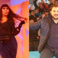 Moria Casán y Diego Brancatelli