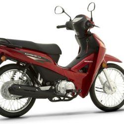 Honda Wave 110 S, primera en el ranking nacional, con 3.624 unidades patentadas en julio.
