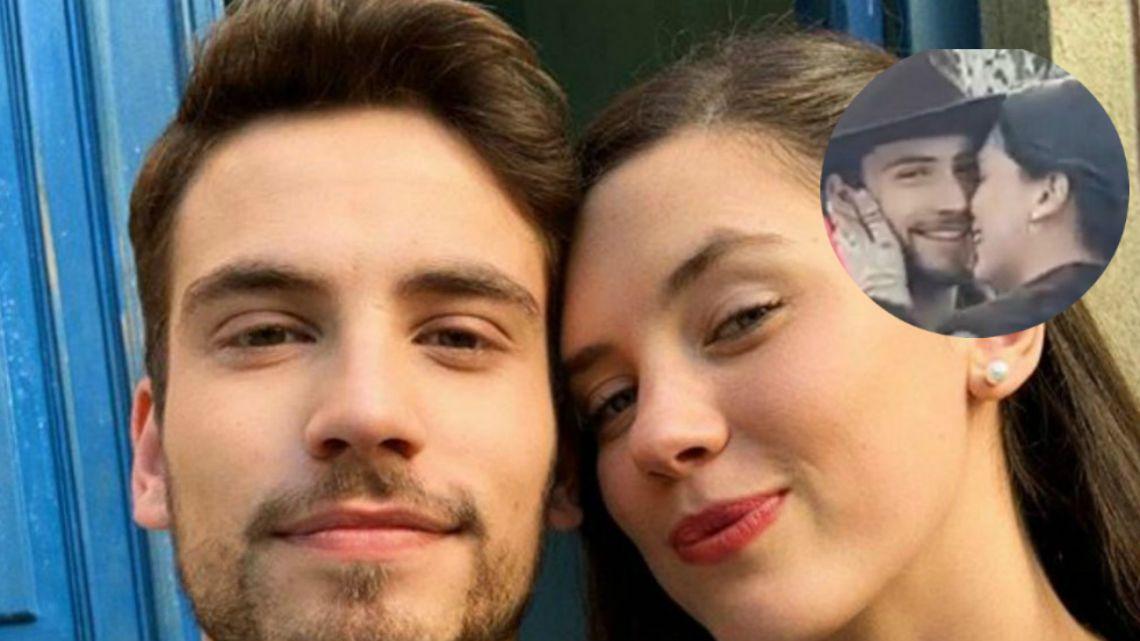 El video que confirmaría el romance entre Albert Baró y Delfina Chaves