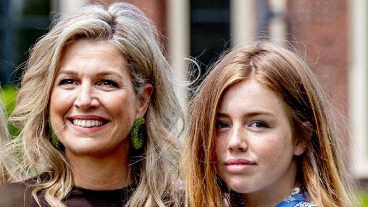El video de Máxima de Holanda retando a una de sus hijas
