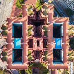El edificio Walden 7 de Barcelona.