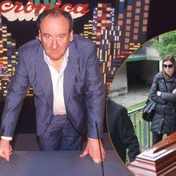 Héctor Ricardo García y su último adiós en el Cementerio de la Chacarita