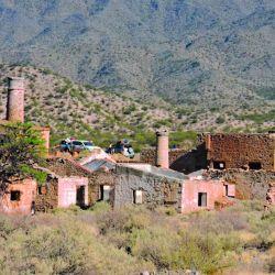 Descubriendo las minas de Hualilán, en San Juan.