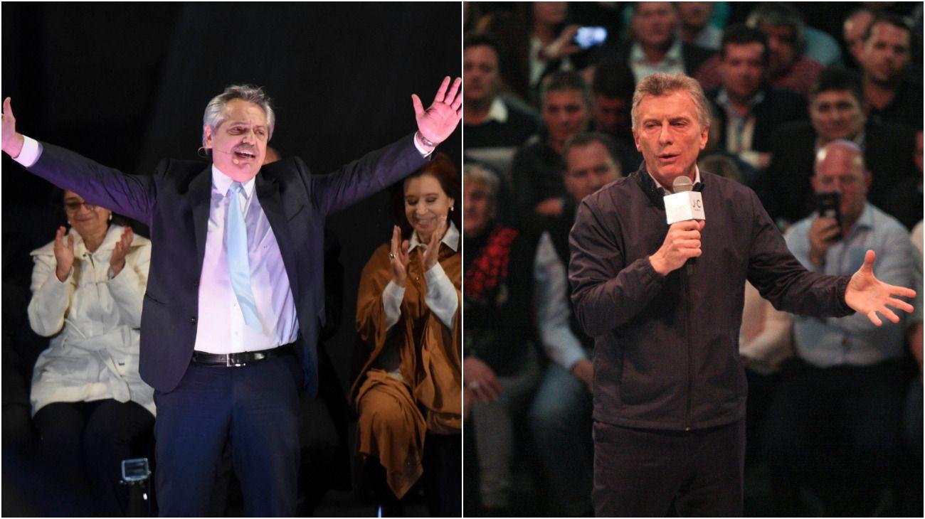 Fernández vs. Macri. Polarización y resultados ajustados.
