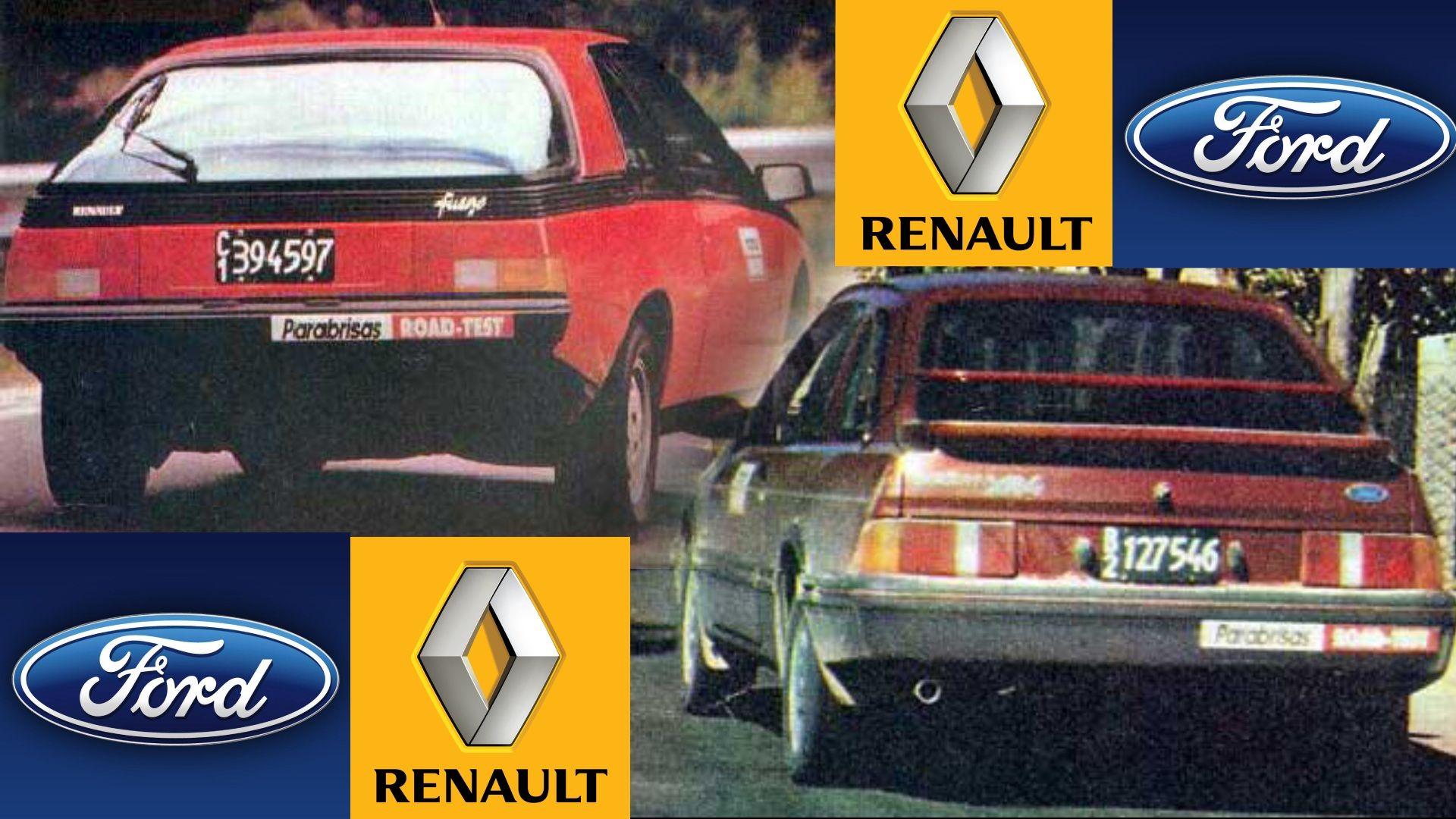 Parabrisas Renault Fuego Vs Ford Sierra Xr4