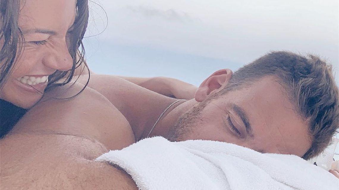 Jujuy Jiménez y Del Potro afianzan su amor en la playa, ¿se viene la convivencia?