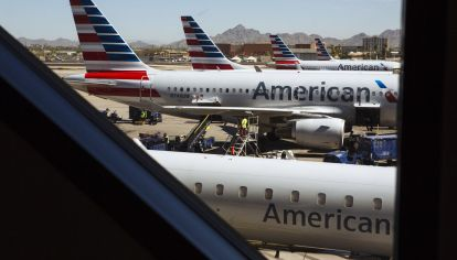 An American Airlines Group Inc. Terminal Ahead Of Earnings Figures