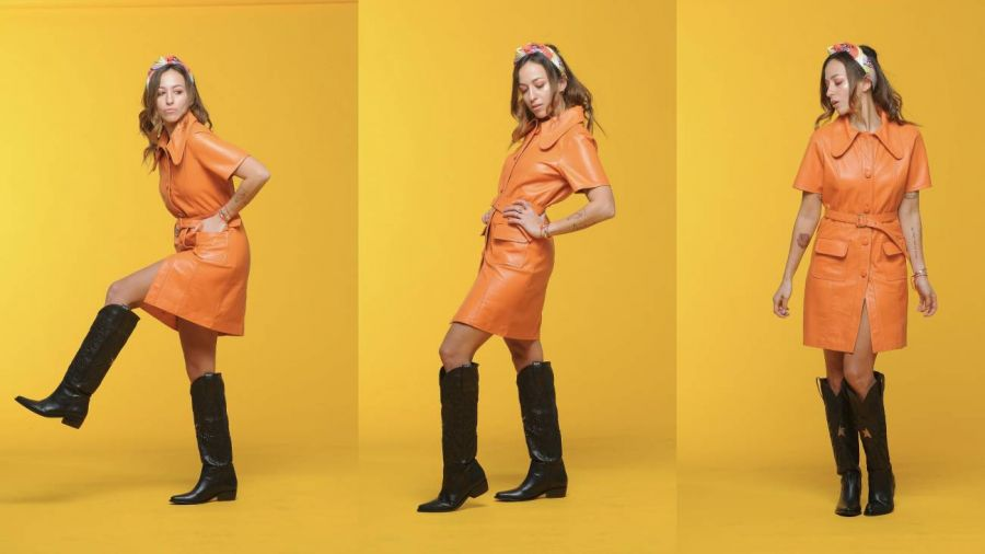 Naranja, el color infaltable de Nati Saal para la temporada SS20