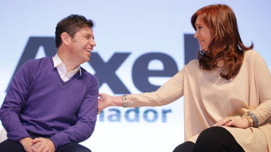 Cristina kirchner axel kicillof cierre de campaña merlo