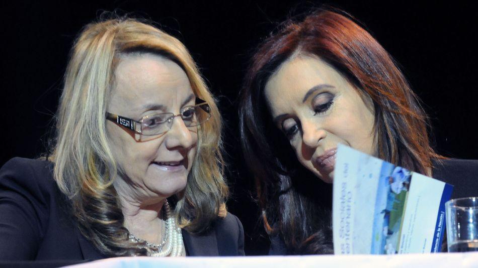 Cristina y Alicia Kirchner.