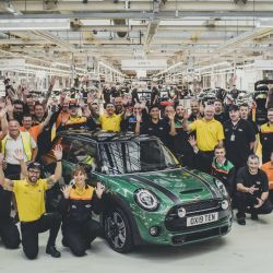 El Mini 10 millones en la planta de Oxford, Inglaterra.