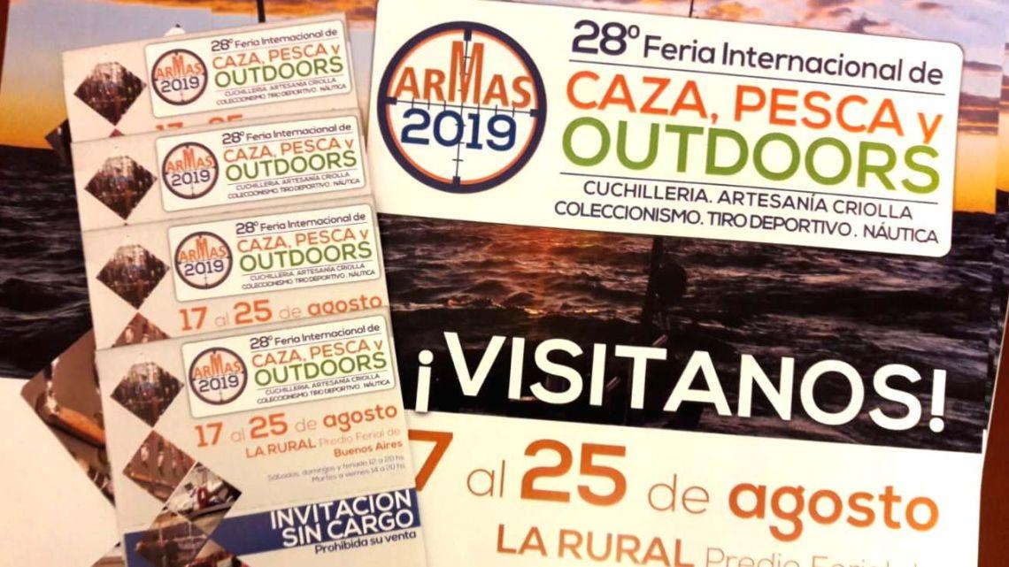 Weekend regala 50 pares de entradas para la Feria Armas 2019