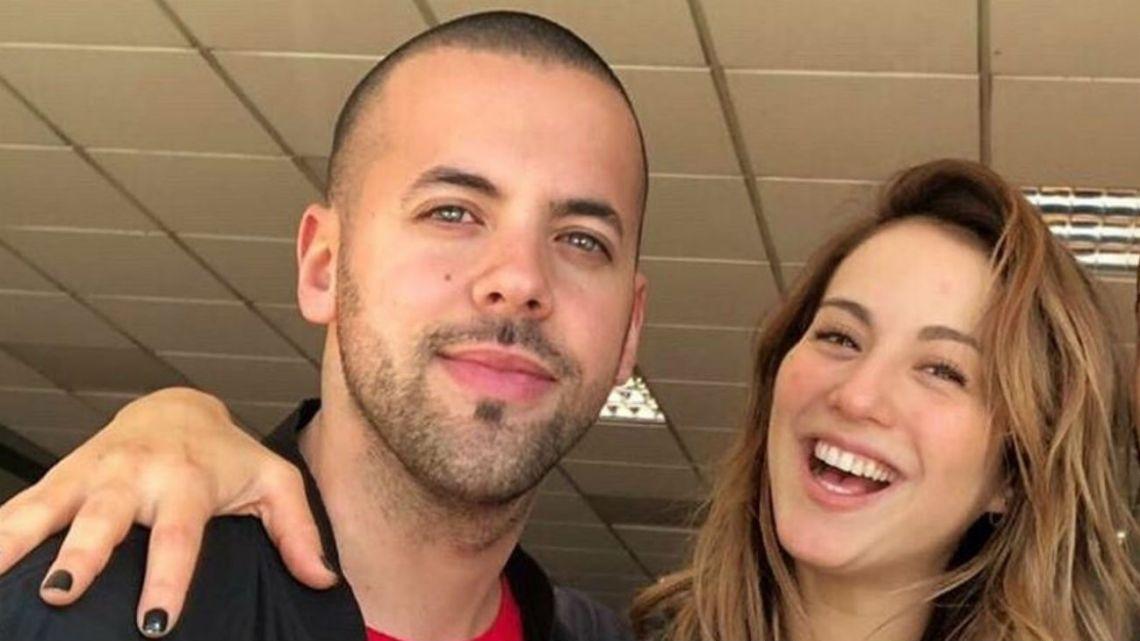 Flor Vigna compartió un video con Mati Napp y le dedicó un romántico mensaje