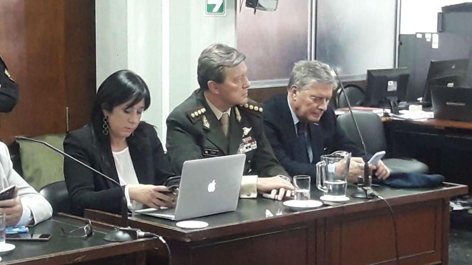 Captura del juicio a César Milani.