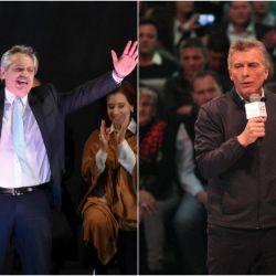 Alberto Fernández y Mauricio Macri (foto: Noticias Argentinas)