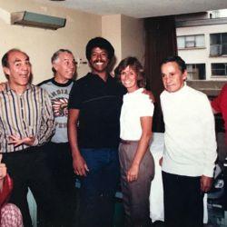 Don Ramón en el hospital hace 31 años