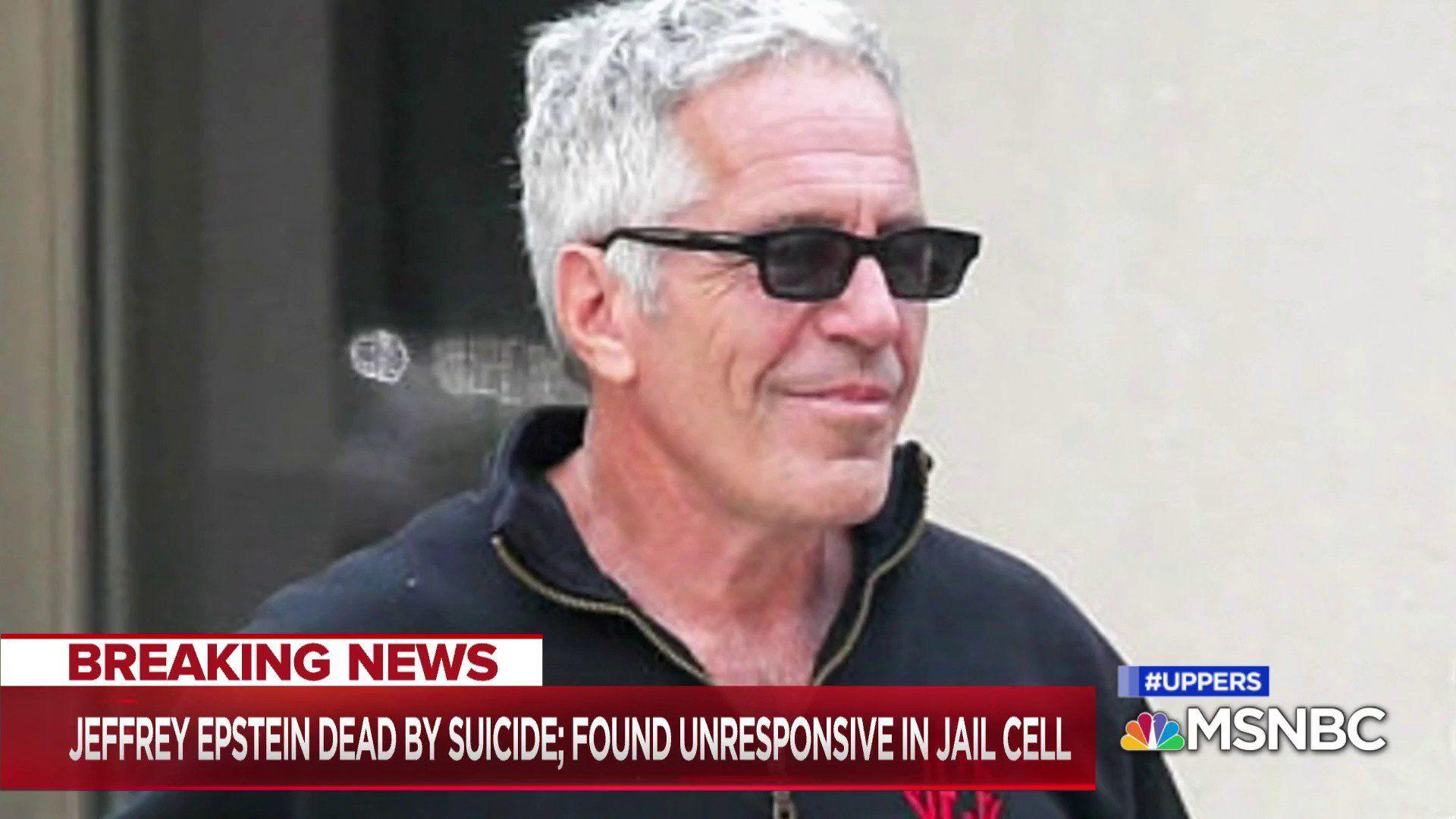 El millonario estadounidense Jeffrey Epstein se suicidó en prisión