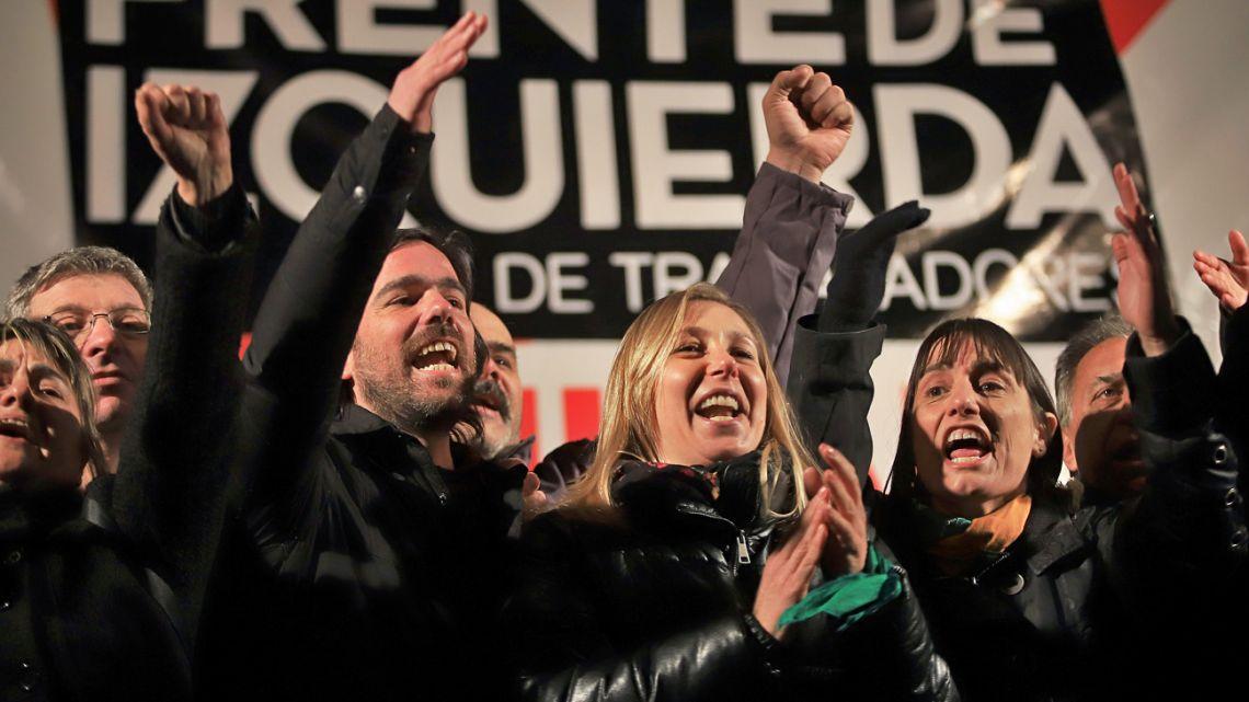 Frente de Izquierda presidential candidate Nicolas Del Caño.
