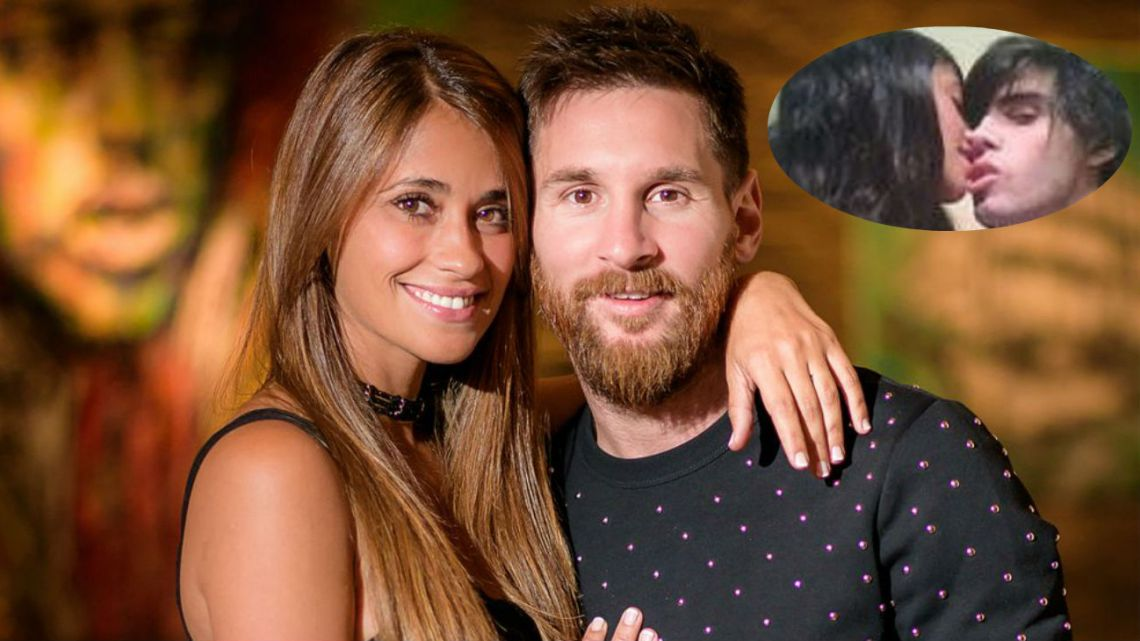 Filtran fotos íntimas de Antonela Roccuzzo con un novio anterior a Lionel Messi