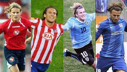 Carrera. Debutó en Independiente, pasó por Atlético de Madrid y la selección uruguaya, y se retiró en China.