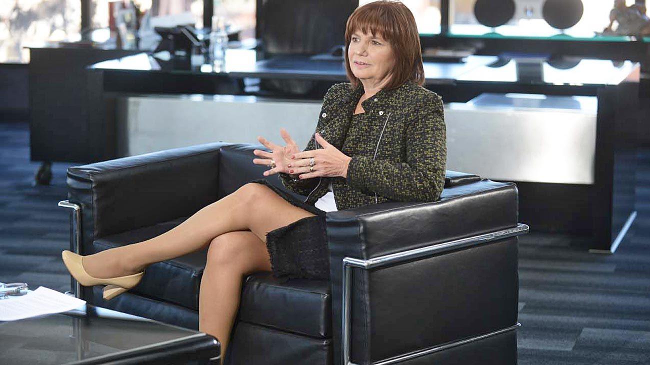 Patricia Bullrich, exministra de Seguridad y presidenta del PRO.