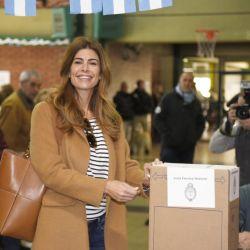 PASO 2019: El look electoral de Juliana Awada: ¿Qué se puso para ir a votar?