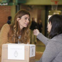 PASO 2019: El look electoral de Juliana Awada, ¿Qué se puso para ir a votar?