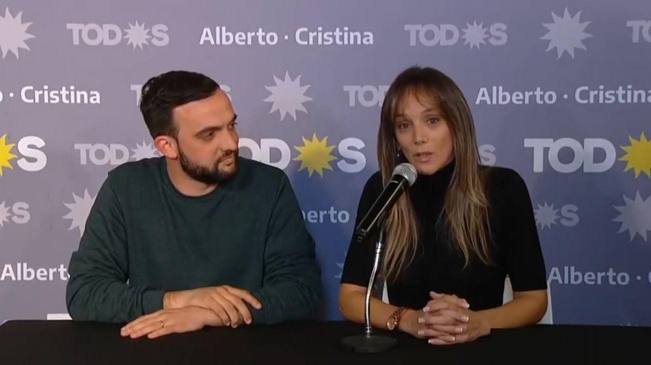 "Malena Galmarini: ""Tenemos números auspiciosos"""