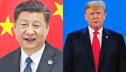 Escalada. Tanto Xi Jinping como Donald Trump parecen avanzar en una guerra que solo produce incertidumbre a nivel global.