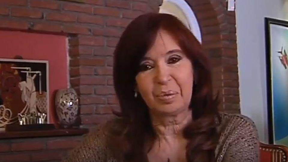 Cristina Kichner.