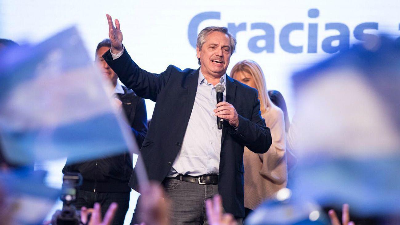 Alberto Fernández, el gran ganador.