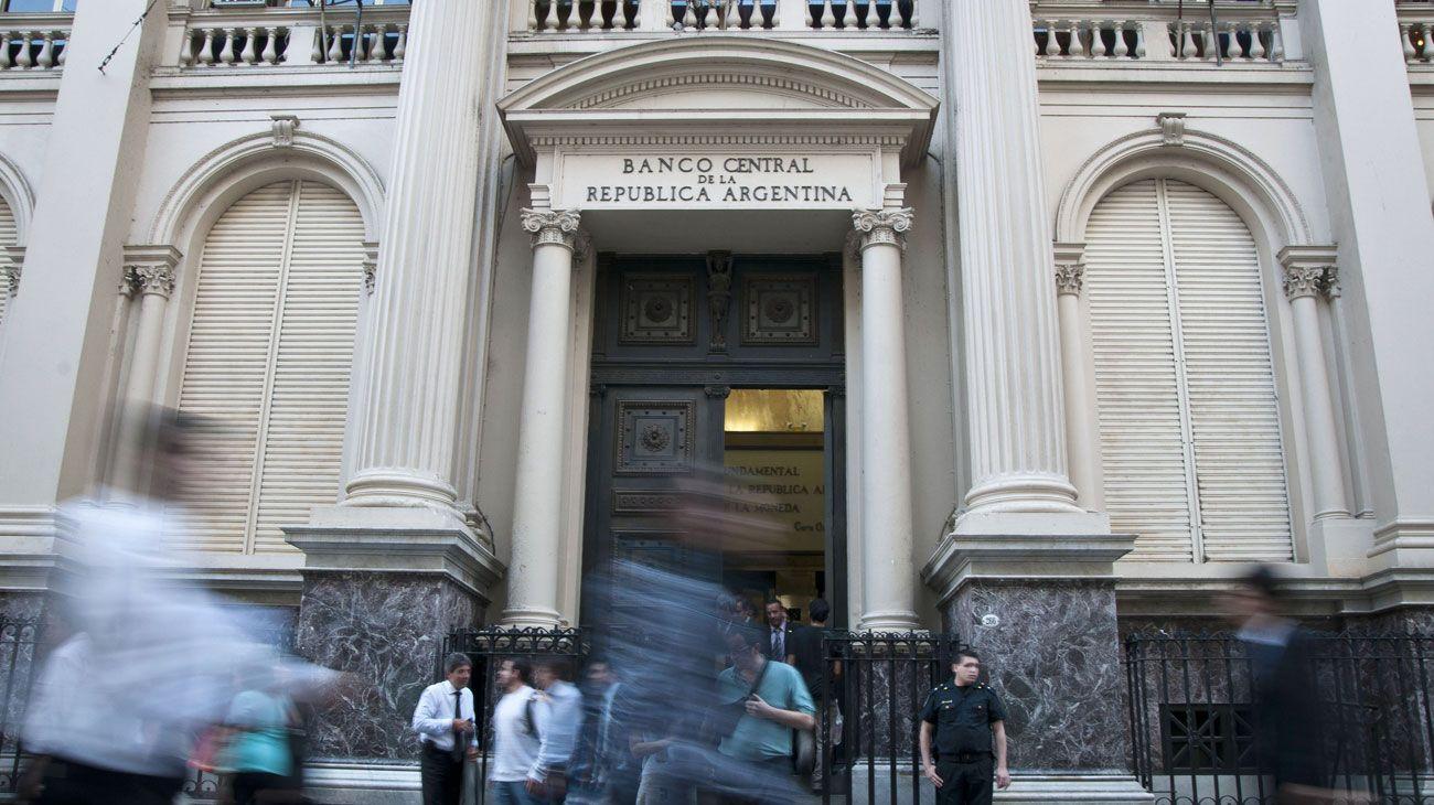 Fachada del Banco Central
