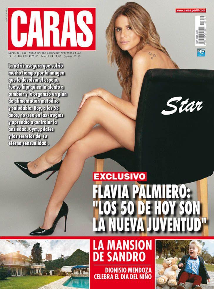 """Flavia Palmiero: """"Los 50 de hoy son la nueva juventud"""""""