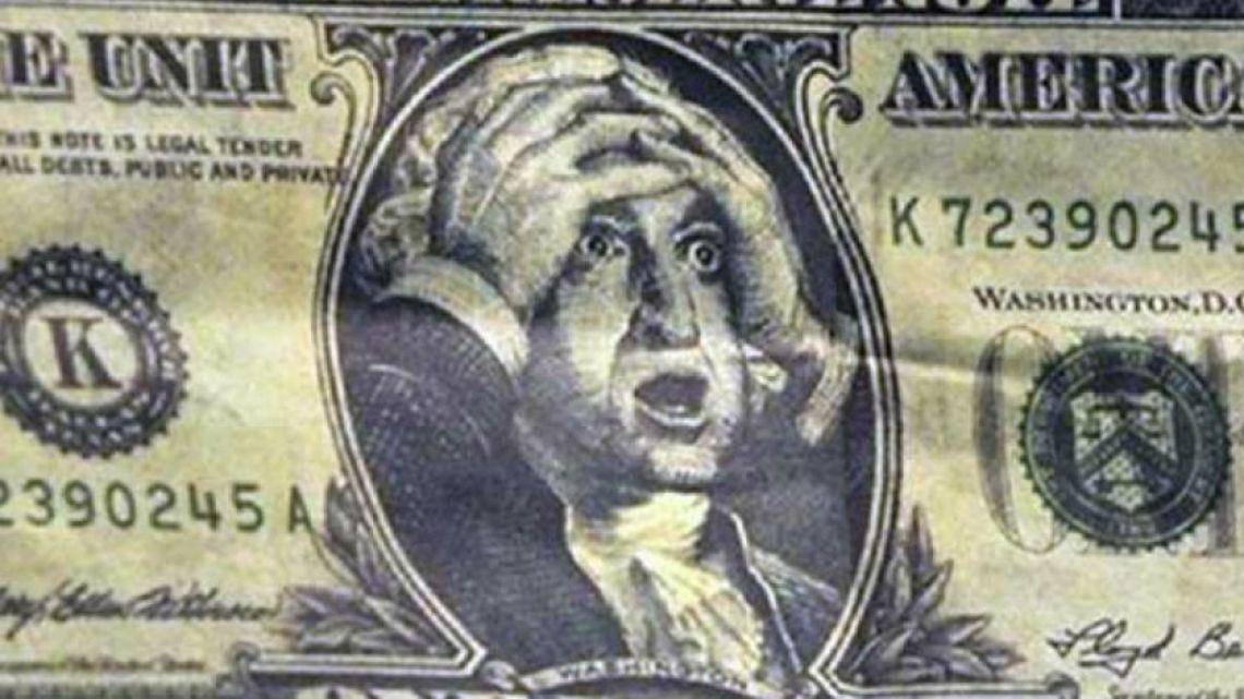 Dollar surprise.