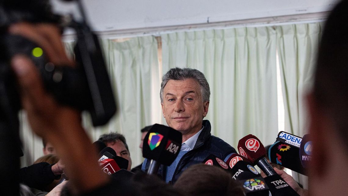 President Mauricio Macri faces a mountain to climb if he is to stand even a chance of winning re-election.