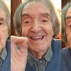 Carlitos Balá cumplió 94 años