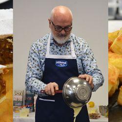 El reconocido chef prepara una tradicional receta germana