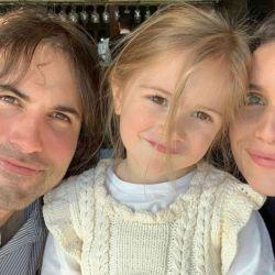 Zaira Nara en familia